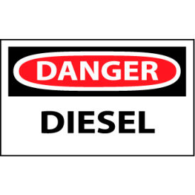 Machine Labels - Danger Diesel