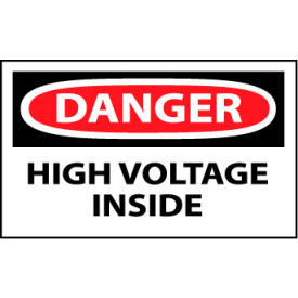 Machine Labels - Danger High Voltage Inside