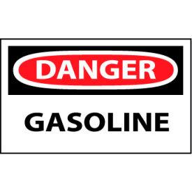 Machine Labels - Danger Gasoline