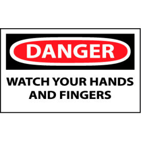 Machine Labels - Danger Watch Your Hands And Fingers