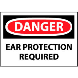 Machine Labels - Danger Ear Protection Required
