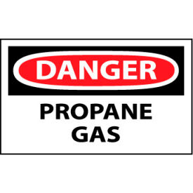 Machine Labels - Danger Propane Gas