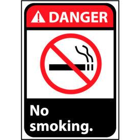 Danger Sign 14x10 Aluminum - No Smoking