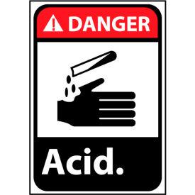 Danger Sign 14x10 Aluminum - Acid