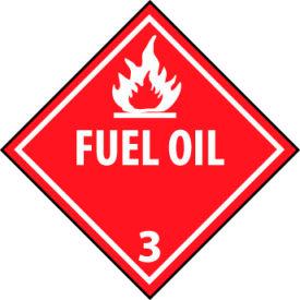 DOT Placard - Fuel Oil