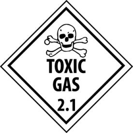 DOT Placard - Toxic Gas