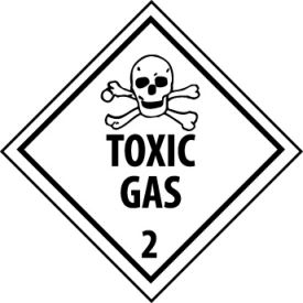 DOT Placard - Toxic Gas 2