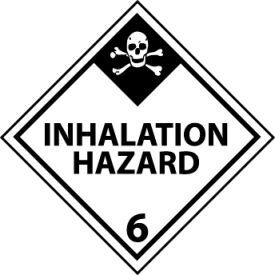 DOT Placard - Inhalation Hazard 6