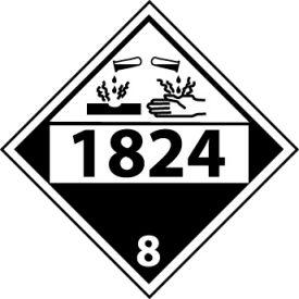 DOT Placard - 1824 8
