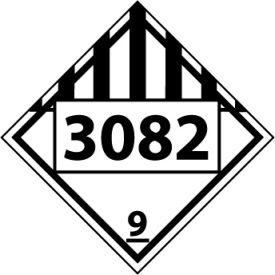 DOT Placard - 3082 9