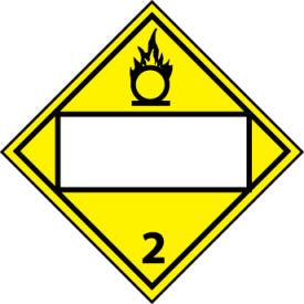 DOT Placard - Oxygen 2