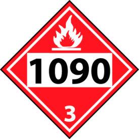 DOT Placard - Four Digit 1090