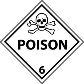 DOT Placard - Poison 6