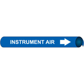 Precoiled and Strap-on Pipe Marker - Instrument Air