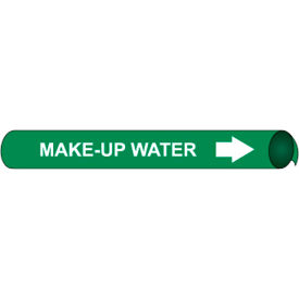 Precoiled and Strap-on Pipe Marker - Make-Up Water