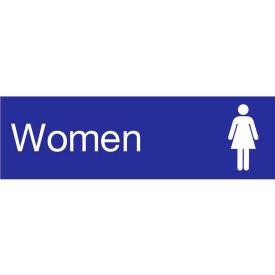 Engraved Sign - Women - Blue