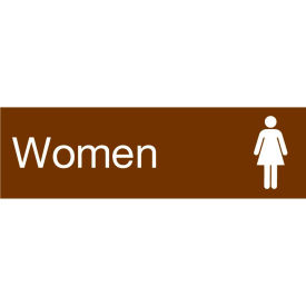 Engraved Sign - Women - Brown