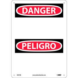 Bilingual Plastic Sign - Danger Blank