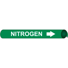 Precoiled and Strap-on Pipe Marker - Nitrogen