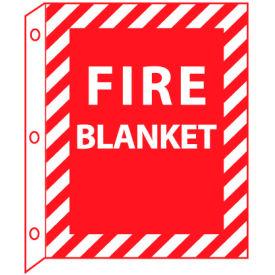 Fire Flange Sign - Fire Blanket