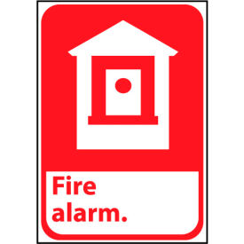 Fire Safety Sign - Fire Alarm - Vinyl