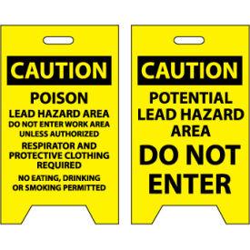 Floor Sign - Caution Potential Lead Hazard Area Do Not Enter
