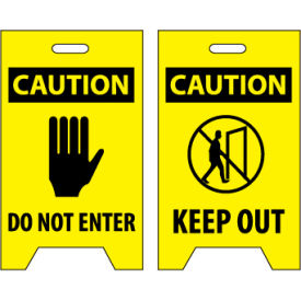 Floor Sign - Caution Do Not Enter Keep Out