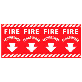 Fire Safety Sign - Fire Extinguisher Column Marker
