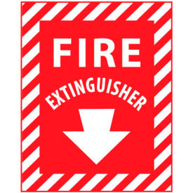 Fire Safety Sign - Fire Extinguisher - Fiberglass