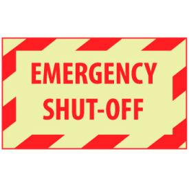 Graphic Machine Glow Labels - Emergency Shut-Off