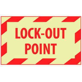 Graphic Machine Glow Labels - Lock-Out Point