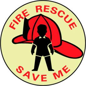 Glow Sign Vinyl - Fire Rescue