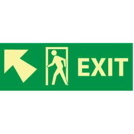 Glow Sign Rigid Plastic - 5X14(w/ Door And Left Up Arrow)