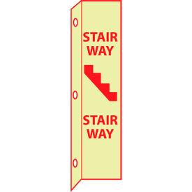 3D Glow Sign Plastic - Stairway