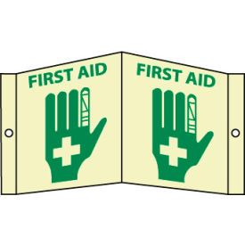 3D Glow Sign Acrylic - First Aid