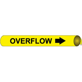 Precoiled and Strap-on Pipe Marker - Overflow