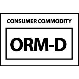 Hazardous Waste Vinyl Labels - Consumer Commodity ORM-D