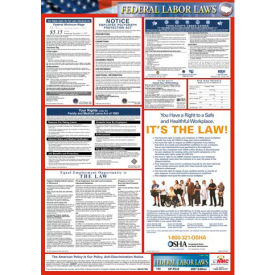 Labor Law Poster - Federal Labor Law Poster