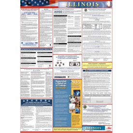 Labor Law Poster - Illinois - Spanish