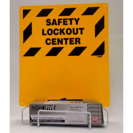 Electrical Lockout Center - Backboard and Rack - Bilingual