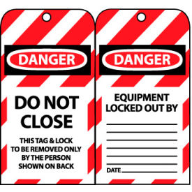 Lockout Tags - Do Not Close