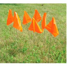 Marking Flags - Orange Glow