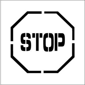Plant Marking Stencil 24x24 - Stop