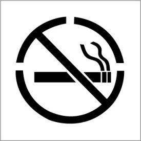 Plant Marking Stencil 20x20 - No Smoking