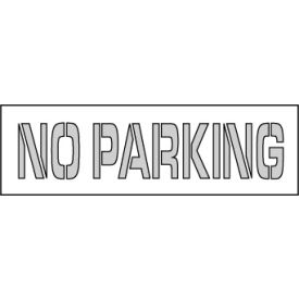 Parking Lot Stencil 24x4 - No Parking