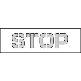 Parking Lot Stencil 18x4 - Stop