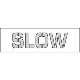 Parking Lot Stencil 18x4 - Slow