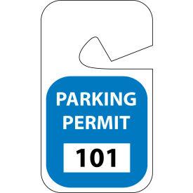 Parking Permit - Blue Rearview 101 - 200