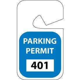 Parking Permit - Blue Rearview 401 - 500