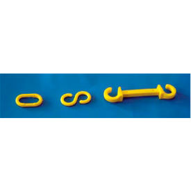 """Connecting S-Hooks - 1-1/2"""" Yellow"""